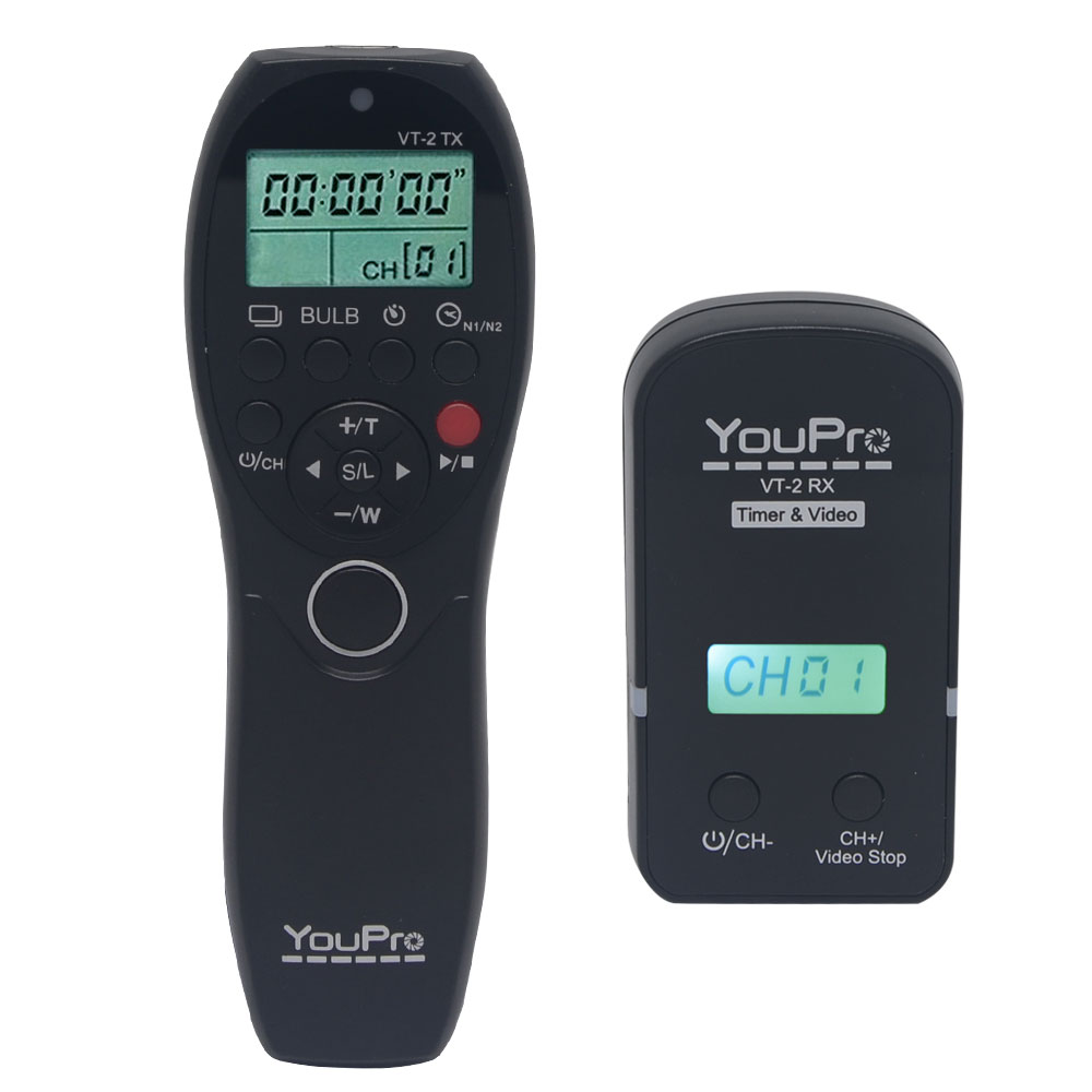 Mcoplus FSK 2 4GHZ Wireless Video Remote Commander Timer Remote Shutter Release for Sony a7 a7R