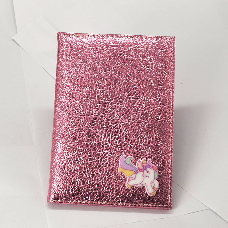 Cute Unicorn Passport Cover Women Travel Wallet Soft Pu Leather Covers For Passports Document Holder Paspoort Protective