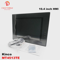 Kinco 10.4 inch HMI Panel Ethernet HMI Human Machine Interface MT4513TE 800*600 with Free Programming Cable and Software