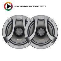 PUZU HiFi 6.5 inch coaxial car audio speakers tweeter midrange bass sound treble 180W output power PP cone 25mm ASV voice coil