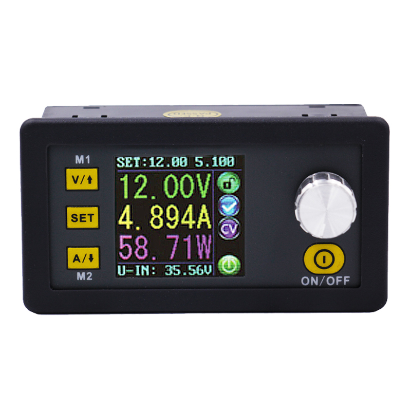 DPS5015 Programmable control supply Power 0V-50V 0-15A Converter Constant Current voltage meter Step-down Ammeter Voltmeter 40% dps5015 constant voltage current step down programmable digital power supply buck voltage converter color lcd voltmeter 15a