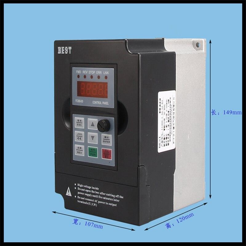 Деревянный гравировальный станок преобразования частоты гравировка машина преобразователя частоты 4KW 380 В Электрический шпиндель Скорост