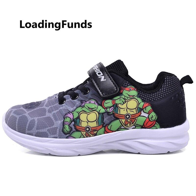 LiebenswüRdig Loadingfunds Jungen Turnschuhe Kinder Schuhe Kinder 3d Ninja Turt Sport Outdoor Schuhe Baby Laufschuhe Zapatos Nino Air Atmungsaktiv Herausragende Eigenschaften