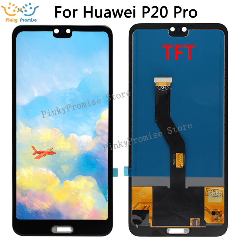 TFT Huawei P20 Pro lcd Display Touch Screen Digitizer Assembly P20 Pro lcd with frame 6