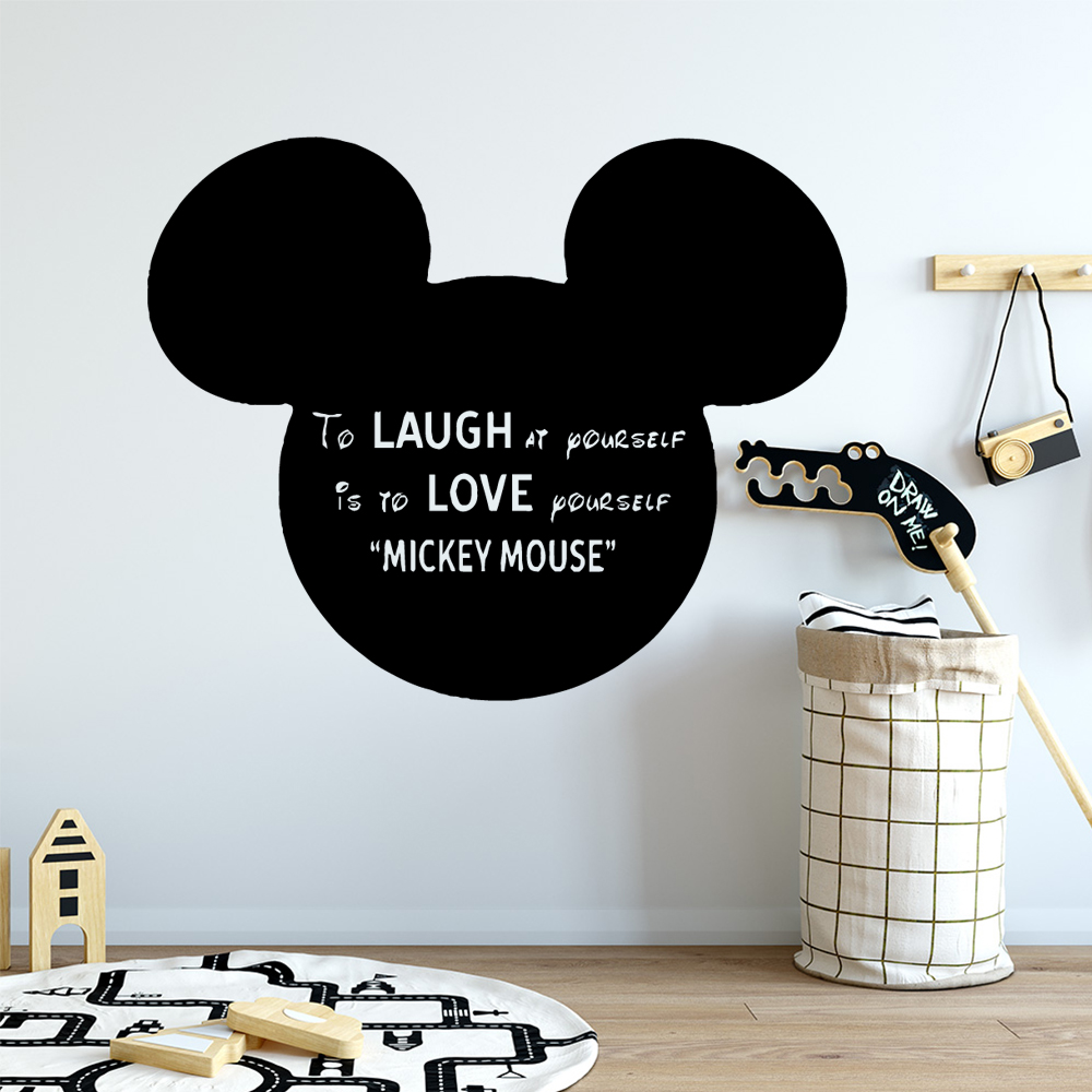 Custom micky mouse Wall Sticker Home Decoration Accessories Decor Living Room Bedroom Removable Nursery
