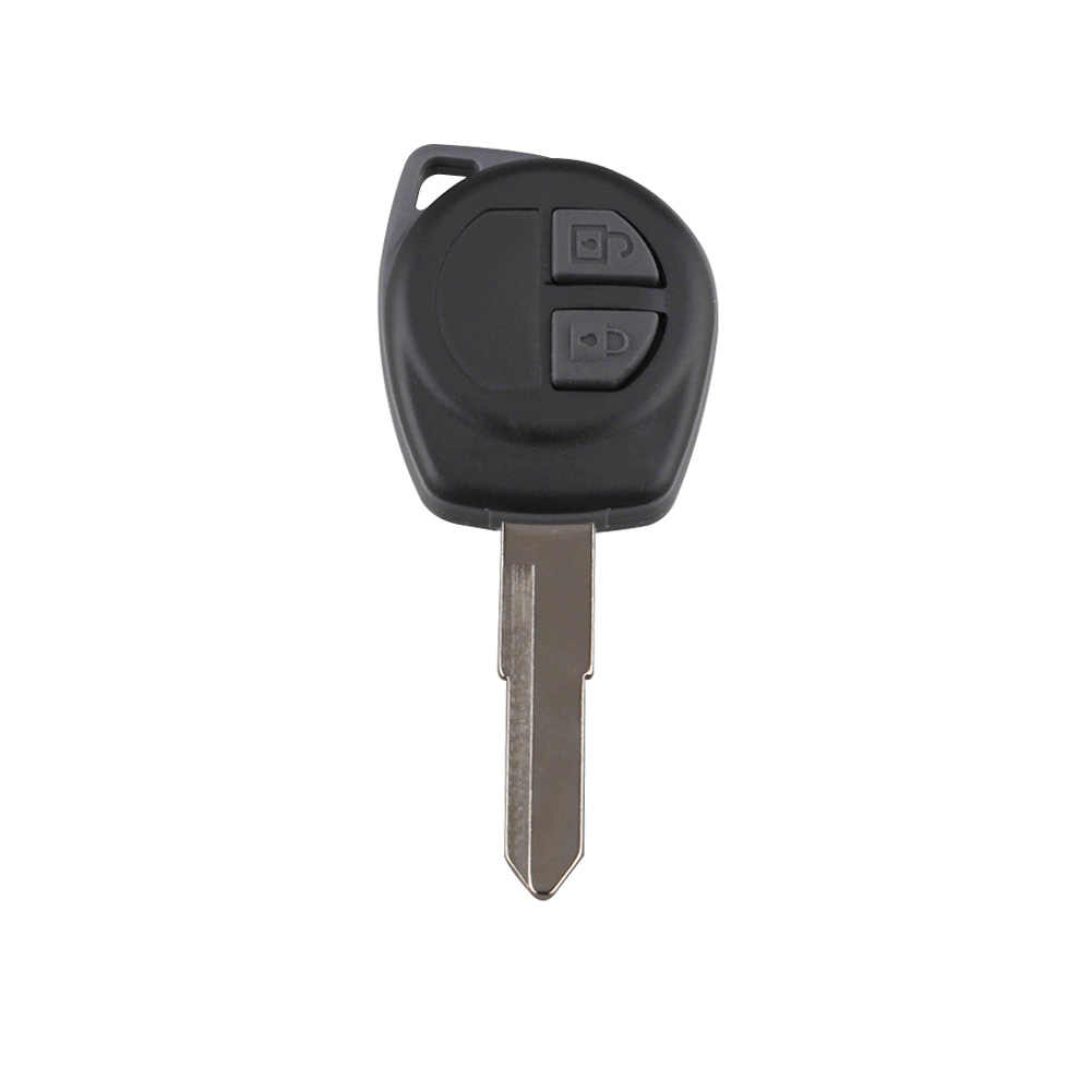 2 Buttons Remote key Case Shell with Button Pad for Suzuki Igins Alto SX4 Vauxhall Agila 2005-2010 Replacement Fob Shell