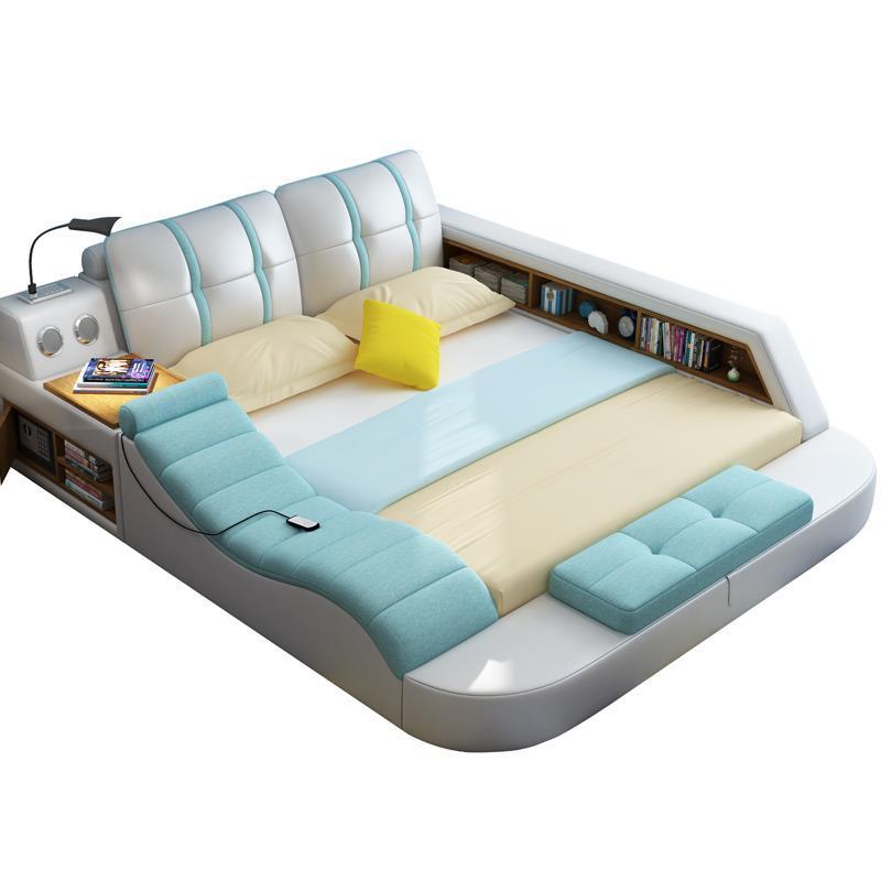 Set Frame Single Recamaras Meuble Maison Box Letto Room Literas Leather Mueble De Dormitorio bedroom Furniture Cama Moderna Bed