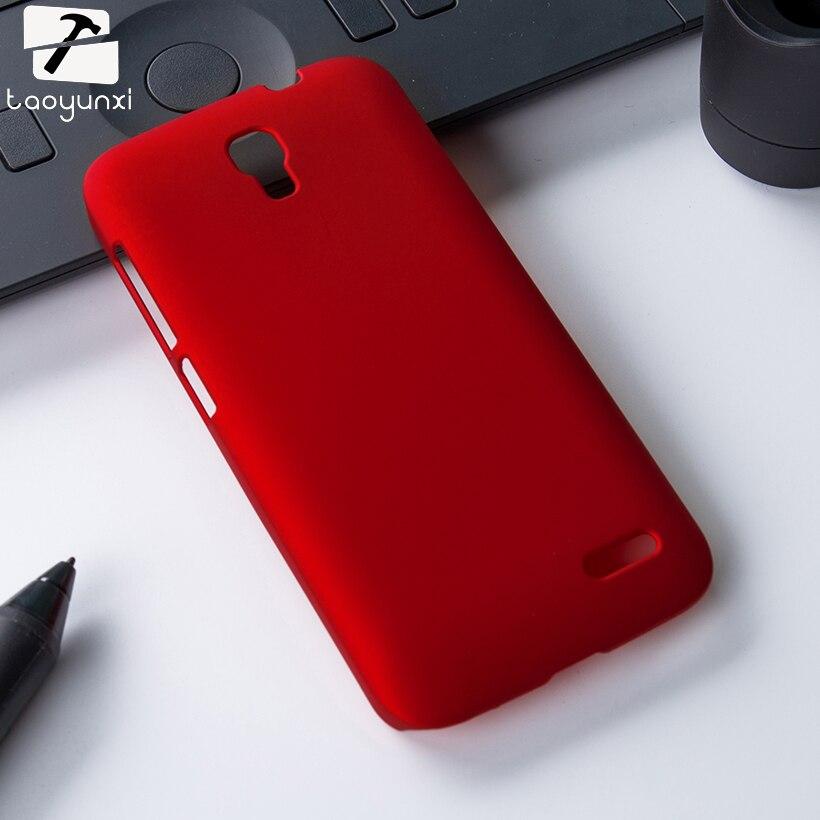 Aceite de mate de goma cubierta dura cajas del teléfono para alcatel onetouch po