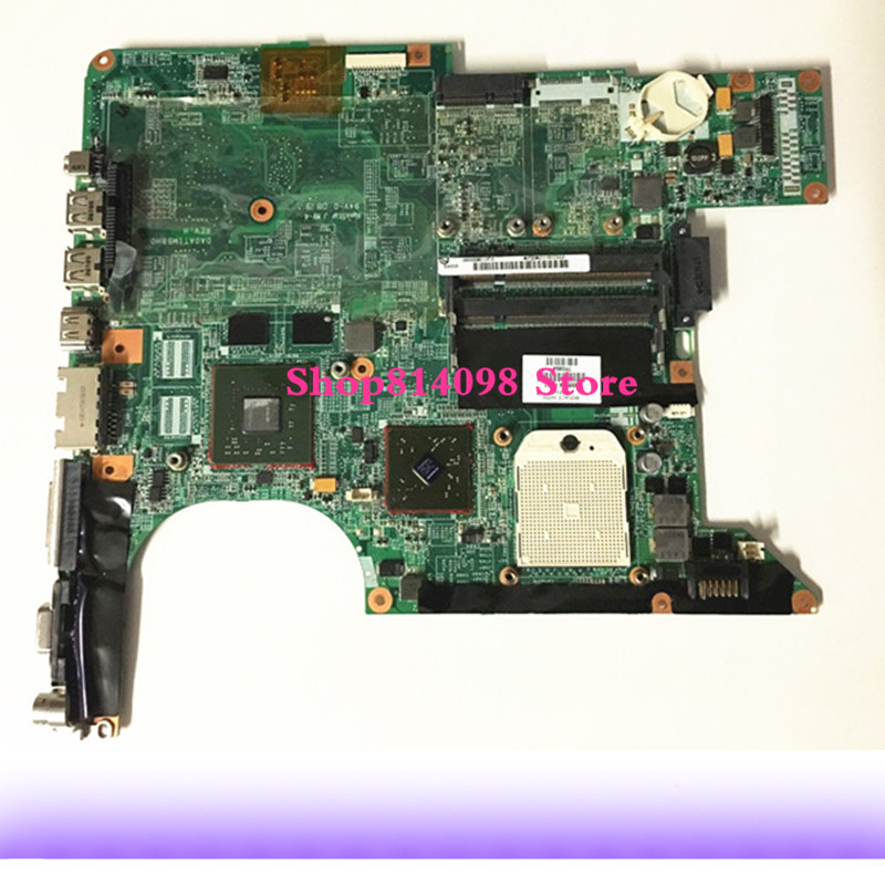 459564-001 For HP Pavilion DV6000 DV6500 DV6700 Laptop Motherboard DA0AT1MB8H0 Mainboard 100%tested fully work for hp pavilion tx1240ef notebook 441097 001 laptop motherboard for amd ddr2 100% fully tested working