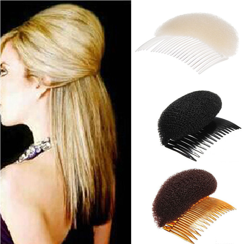 New Arrival Fashion Women Hair Styling Clip Plastic Stick Bun Maker Tool Hair Accessories
