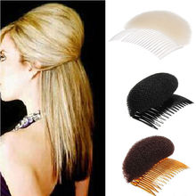 New Arrival Fashion Women Hair Styling Clip Plastic Stick Bun Maker Tool Accessories