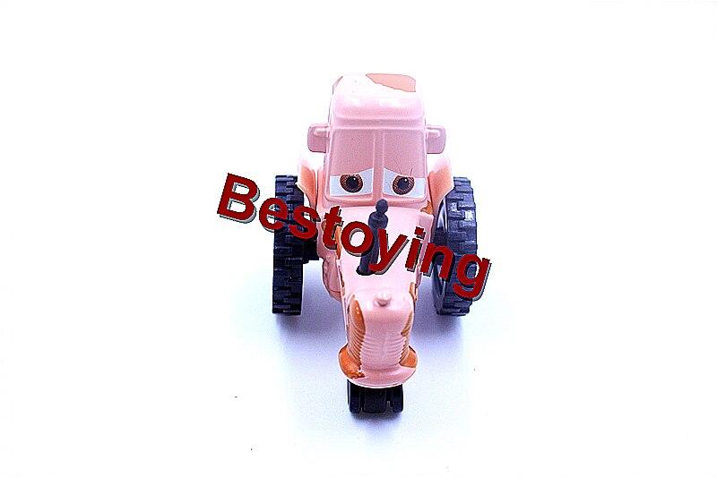 Pixar Arabalar 2 BAHŞIŞ Traktör Diecast Metal Alaşım Modle Için Sevimli Oyuncaklar Çocuk Hediyeler tarafından Kayıtlı Posta