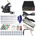 ITATOO Temporary Complete Tattoo Kit Cheap Temperary Makeup Machine Kit Tattoo Machines Set Beginner Equipment Best TK108004-0