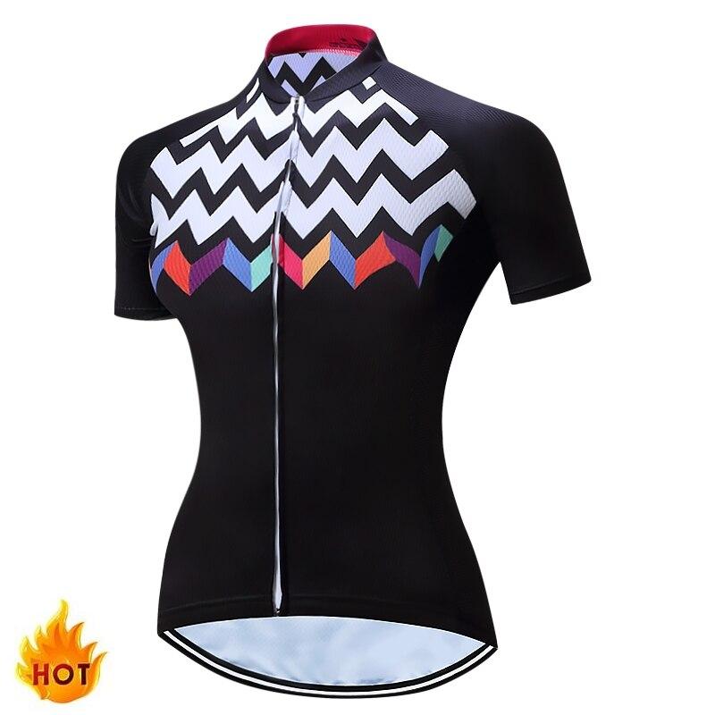 Prix pour TELEYI Vélo Jersey Femmes Frais À Manches Courtes Vélo Sports Cyclisme Jersey D'été Pourpre Vélo Vêtements Chine C02019