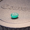 Promotion natural Emerald loose stone  oval shape 0.6 ct to 1.2 ct natural Columbia emerald loose stone for ring