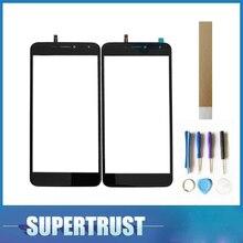Для BQ мобильный BQS-5520 Mercury BQS 5520 BQS5520 сенсорный экран планшета спереди стекло объектив сенсор Черный цвет с инструменты