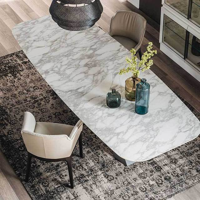 Marble Rectangular Dining Table 3