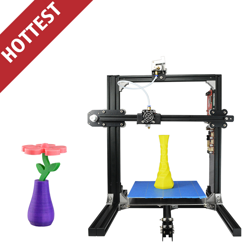 New Aliexpress Prusa i3 3D Printer Parts 3D Metal Printer for Personal DIY Use 3D Impresora with Assembling Teaching Video