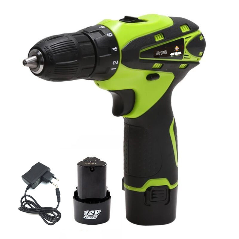 12V Electric Screwdriver Rechargeable Lithium Battery 2 Parafusadeira Furadeira Cordless Screwdriver Two speed Drill Power Tools