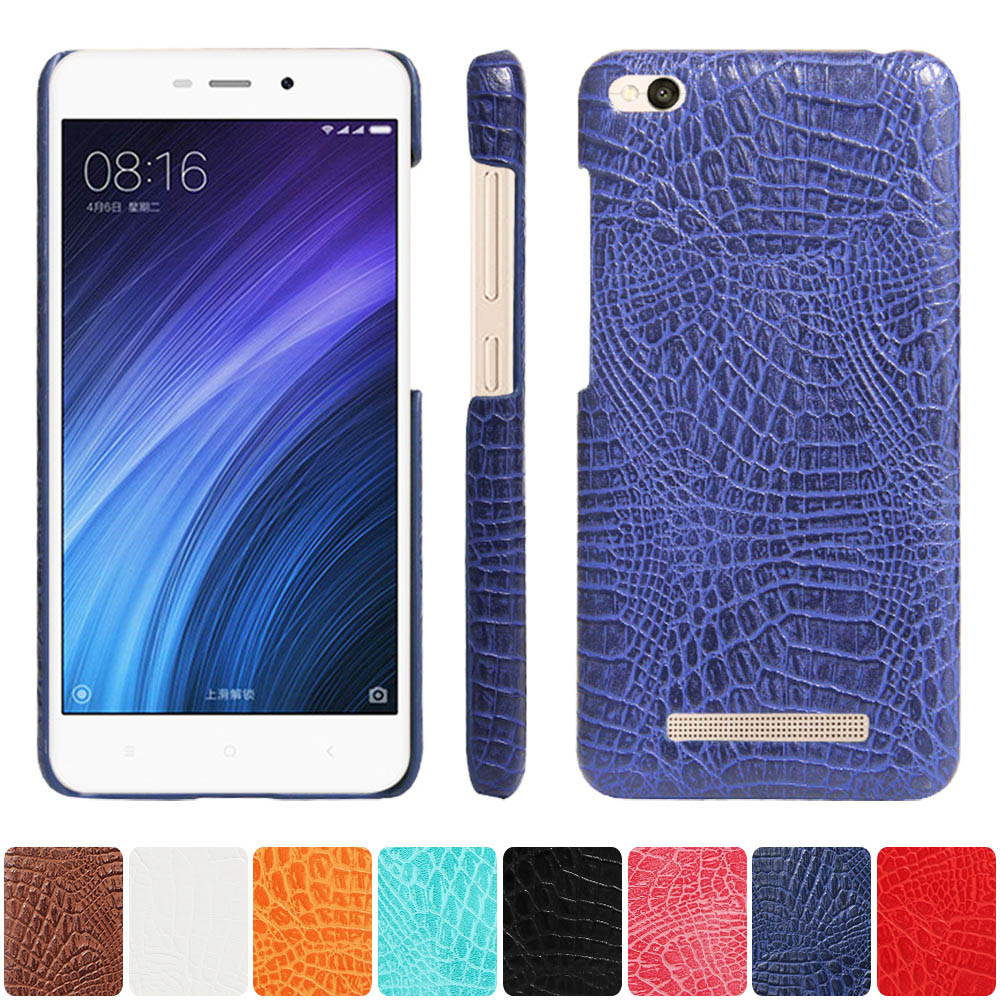 Half-wrapped Case for Xiaomi Redmi 4A 4 A Phone Bumper Fitted Case for Xiaomi Redmi <font><b>A4</b></font> Red <font><b>mi</b></font> 4A Hard PC Frame Cover image