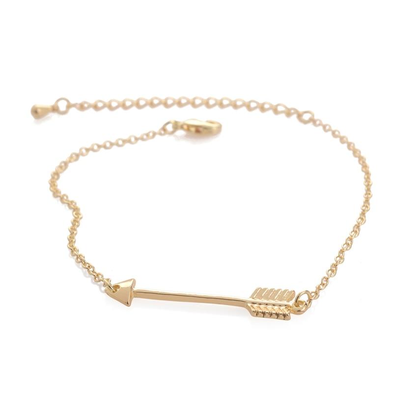 Jisensp Unique One Direction Arrow Charm Bracelets para Mujer - Bisutería - foto 2