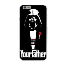 Star Wars Hard Transparent Cover Case for iPhone