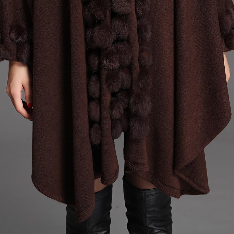 XJXKS женщин пончо шаль кардиган свитер женщин накидки большие ярдов свободной летучей мыши свитера осень/зима женские накидки и ponchoes