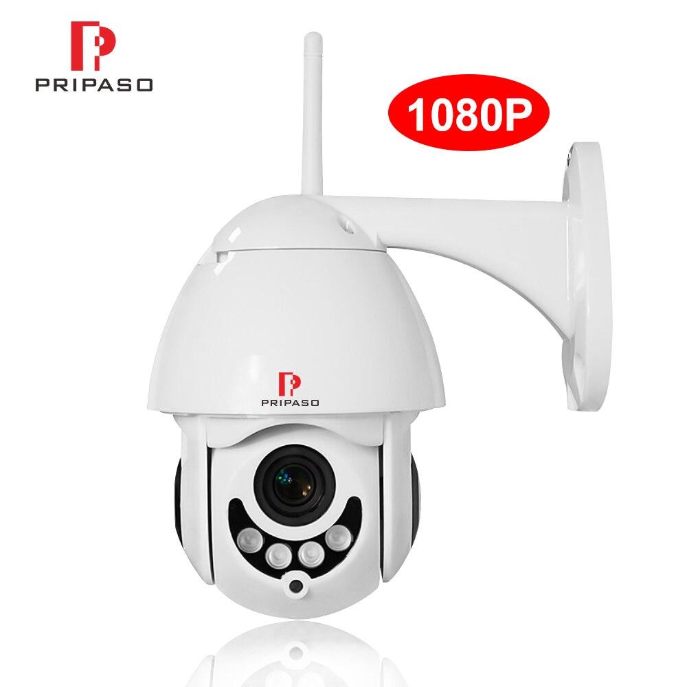 1080 P 2MP sécurité à domicile sans fil Wifi caméra HD CCTV Vision 360 PTZ caméra Onvif extérieure ipCam Surveillance vidéo ipcam