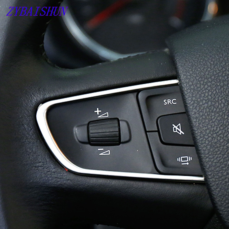 Steering Wheel Decoration Trim Cover for 308 208 GTI 2008 Sticker