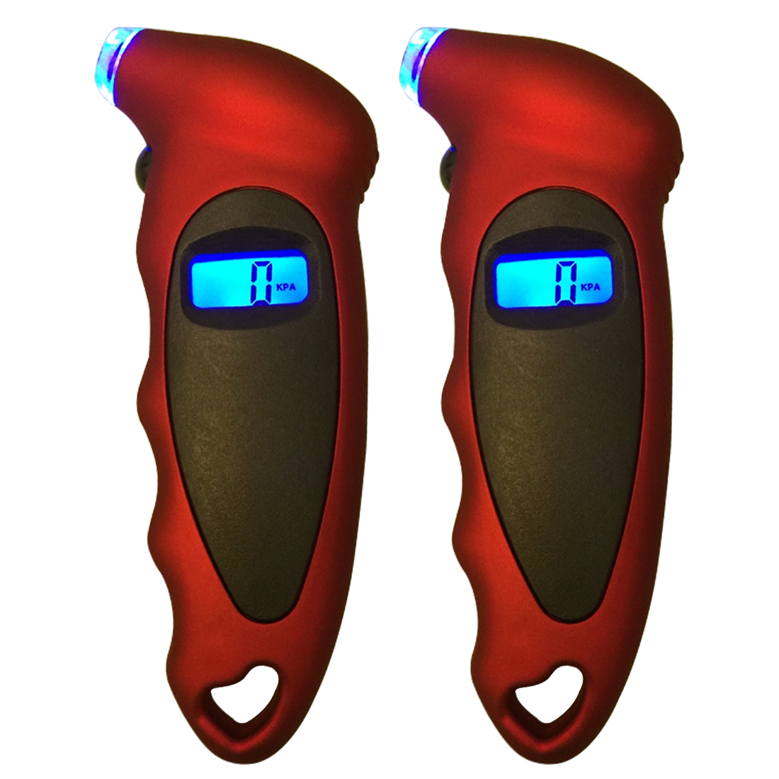 Car Digital Tire Pressure Gauge Tool Car Motorcycle Bike Mini Digital Tire Gauge Tire Diagnostic LCD Display 8 in 1 1 2 digital display tire pressure gauge black 3 x aaa battery