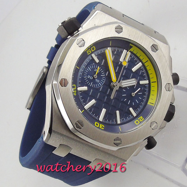 Fashion Blue Rubber Strap Mens Watches Blue Dial Men Wrist Watch 2018 Men's Watches Top Brand Luxury Casual Quartz Watch Clock