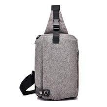 лучшая цена Male Shoulder Bags USB Charging Crossbody Bags Men Anti Theft Chest Bag School Summer Short Trip Messengers Bag 2018 New Arriva