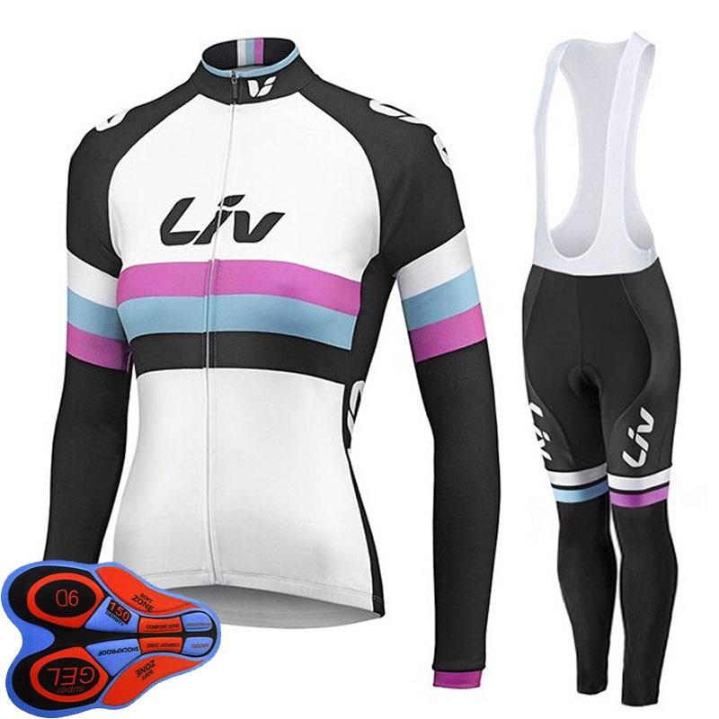2017 Womens Long Sleeve Jersey Bike Anti-Wrinkle MTB Cycling Jersey Breathable Bicycle Clohtes MTB Wear bike Cycling clothing