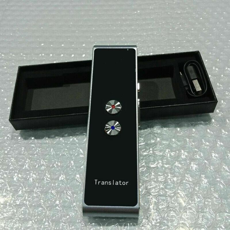 Portable Mini Multi-Language Smart Translator 40 Languages APP Translator Bluetooth Wireless Two-Way Real Time Instant Voice13
