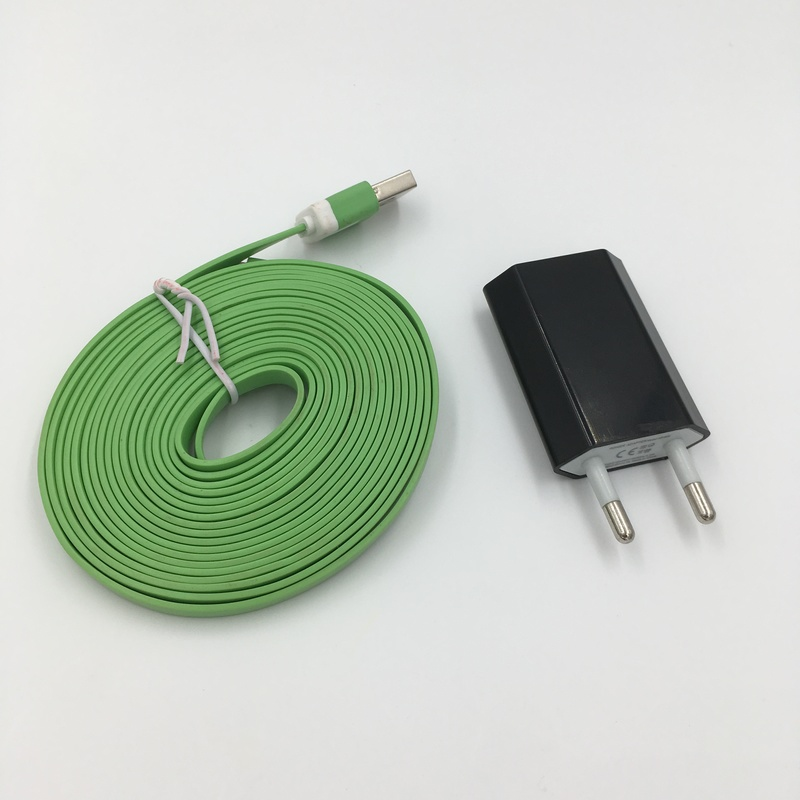 Путешествия ЕС USB Зарядное устройство и 3 М Лапша 8pin USB кабель для <font><b>iPhone</b></font> 7 Plus <font><b>6</b></font> 6S плюс SE 5 5S 5C IPad Mini Air Pro Ipod