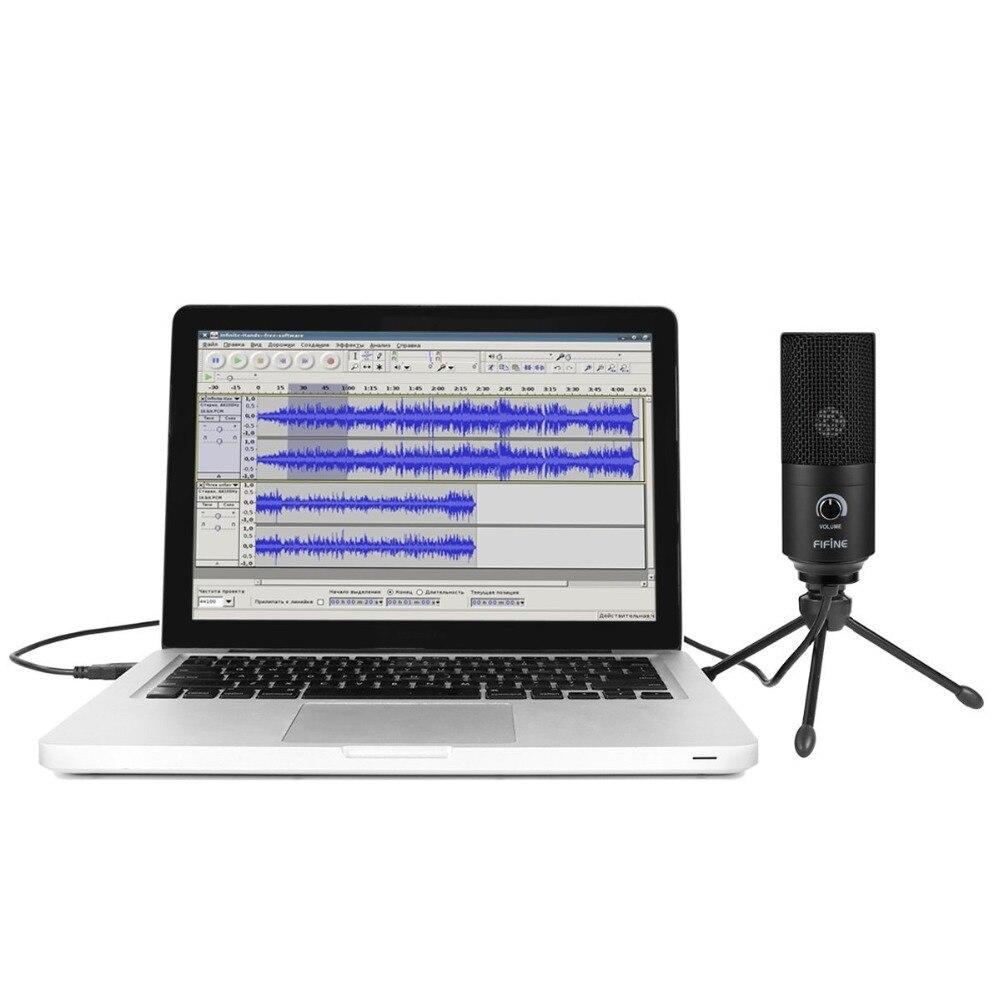 Microphone d'enregistrement prise usb convient à Ordinateur Windows MacBook Haute Sensibilité pour Instrument Jeu Vidéo Enregistrement K669B - 4