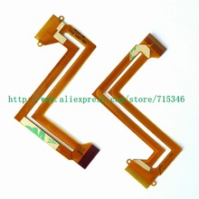 NEW LCD Flex Cable For SAMSUNG HMX H200 BP HMX H204 HMX H205 HMX H220 H200 H204 H205 H220 Q100 Video Camera Repair Part