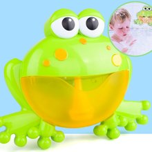 Automatic Bubble Machine Blower Cartoon Cute Frog  Baby Bath ToyMake Party Summer Outdoor Toy Bubble Generate Toy for Kids цены
