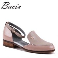 Bacia Brand Style Shoes Genuine Leather Women Flats New Spring Fashion Women Shoes Sapatos Femininos Sapatilhas