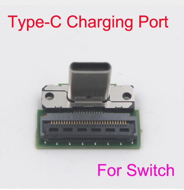 Replacement Type-C Charging Port Socket Replacement for Nintend Switch NS SWITCH Game Console