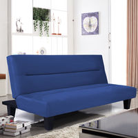 Giantex Microfiber Futon Folding Couch Sofa Bed With 6 Mattress Sleep Recliner Lounger Living Room Furniture