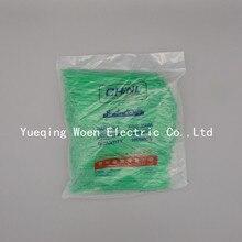 Нейлоновые кабельные стяжки XGS-150M 3*150 цвет зеленый 150 мм