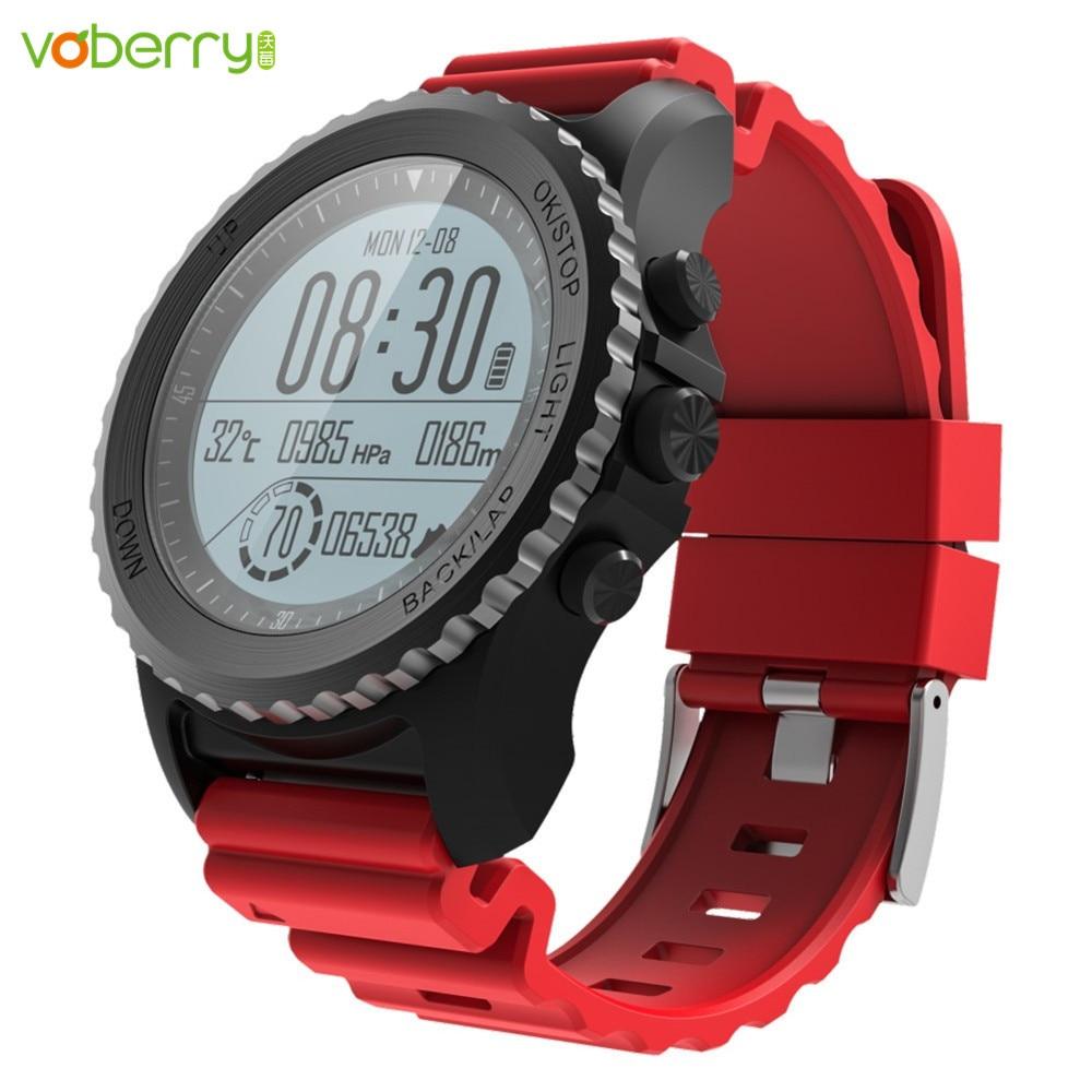 VOBERRY New S968 Waterproof IP68 Smart Watch Bluetooth Sport watch Support GPS Heart Rate Monitor Multi-sport Smartwatch no 1 f2 ip68 bluetooth smartwatch green