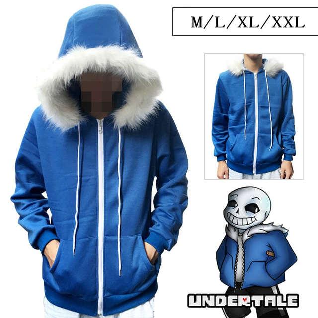 1c8064d74 placeholder  La MaxPa  Navio Livre undertale sans casaco azul cosplay traje  jaqueta moletom com capuz