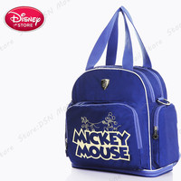 Disney Multi function Bottle Feeding Insulation New Mother Bag Baby Care Nappy Changing Large capacity Travel Computer backpack