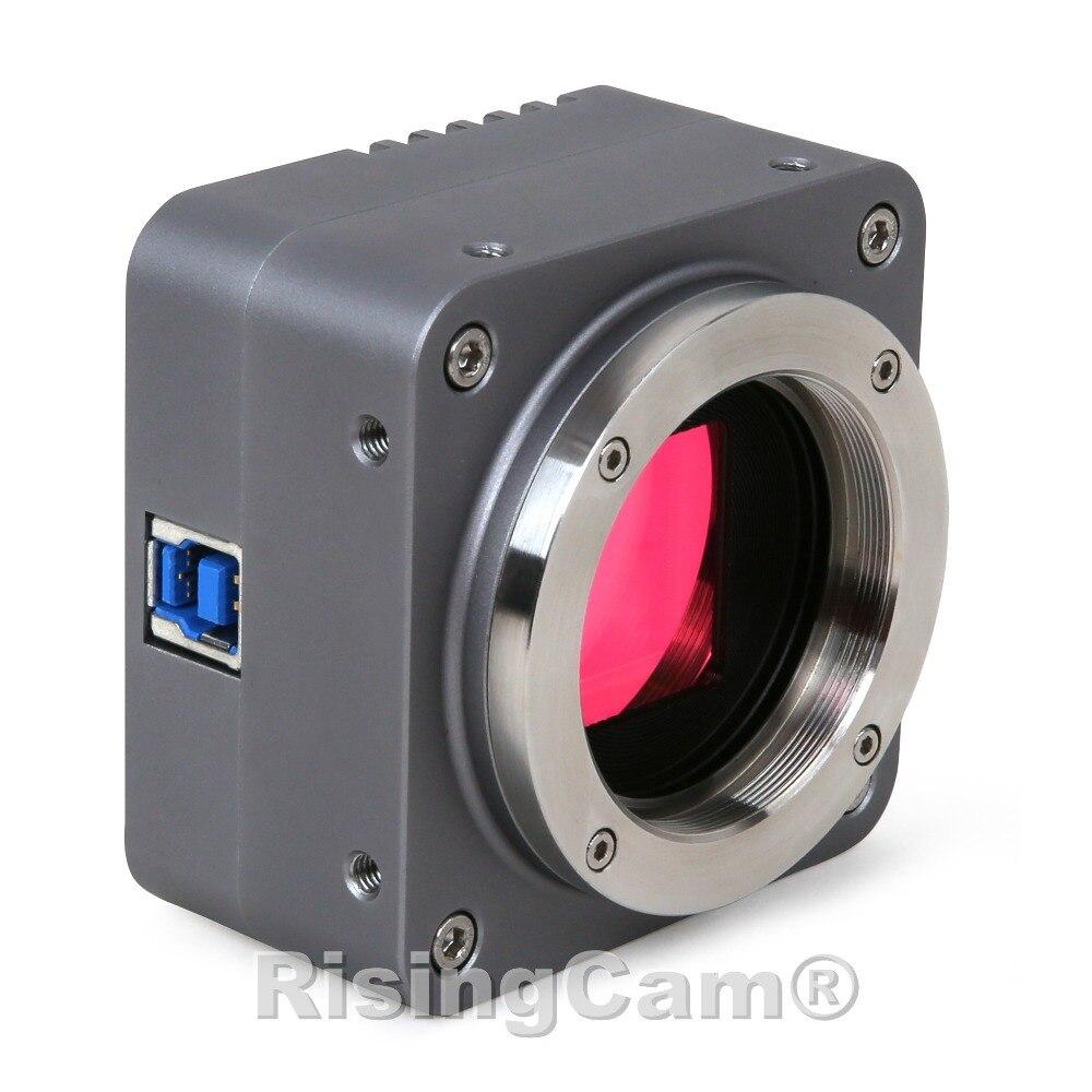 "Image 2 - BigEYE USB3.0 10mp SONY imx294 4/3"" CMOS Digital Microscope camera with M42 and C mount for trinocular biological microscopeMicroscopes   -"