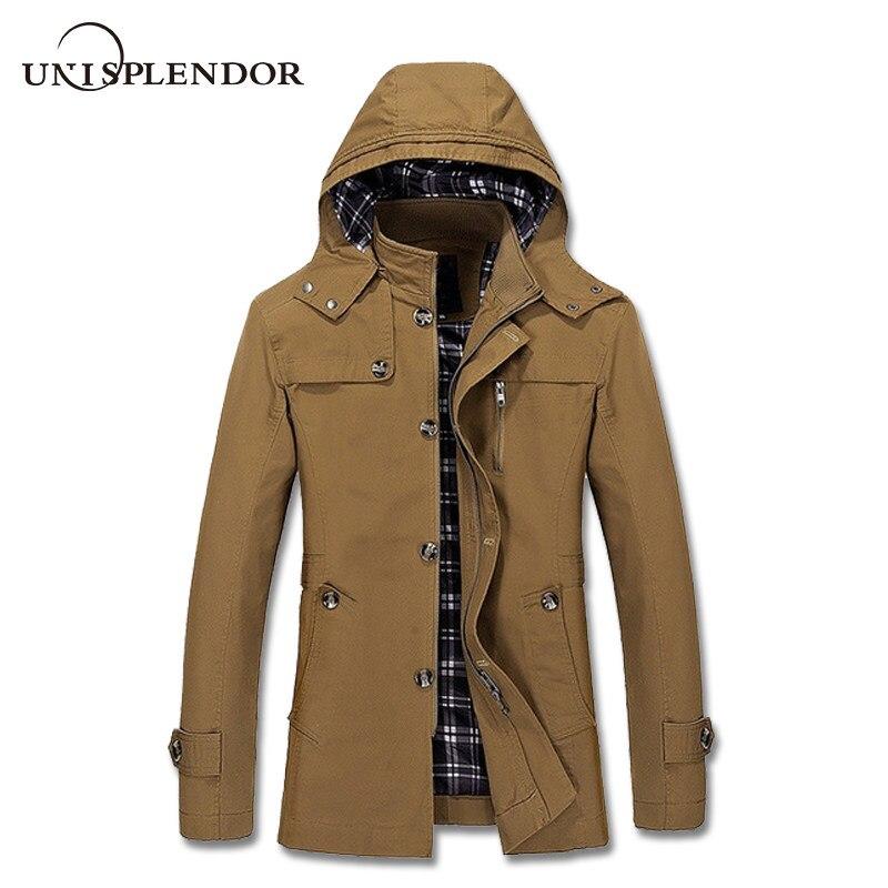 Neue Mode 2019 Mode Ankunft Winter Männer Neue Lange Jacke Männlichen Dicke Warme Feste Mantel Casual Hooded Zipper Parkas Cool Coat Plus Größe 3xl Parkas