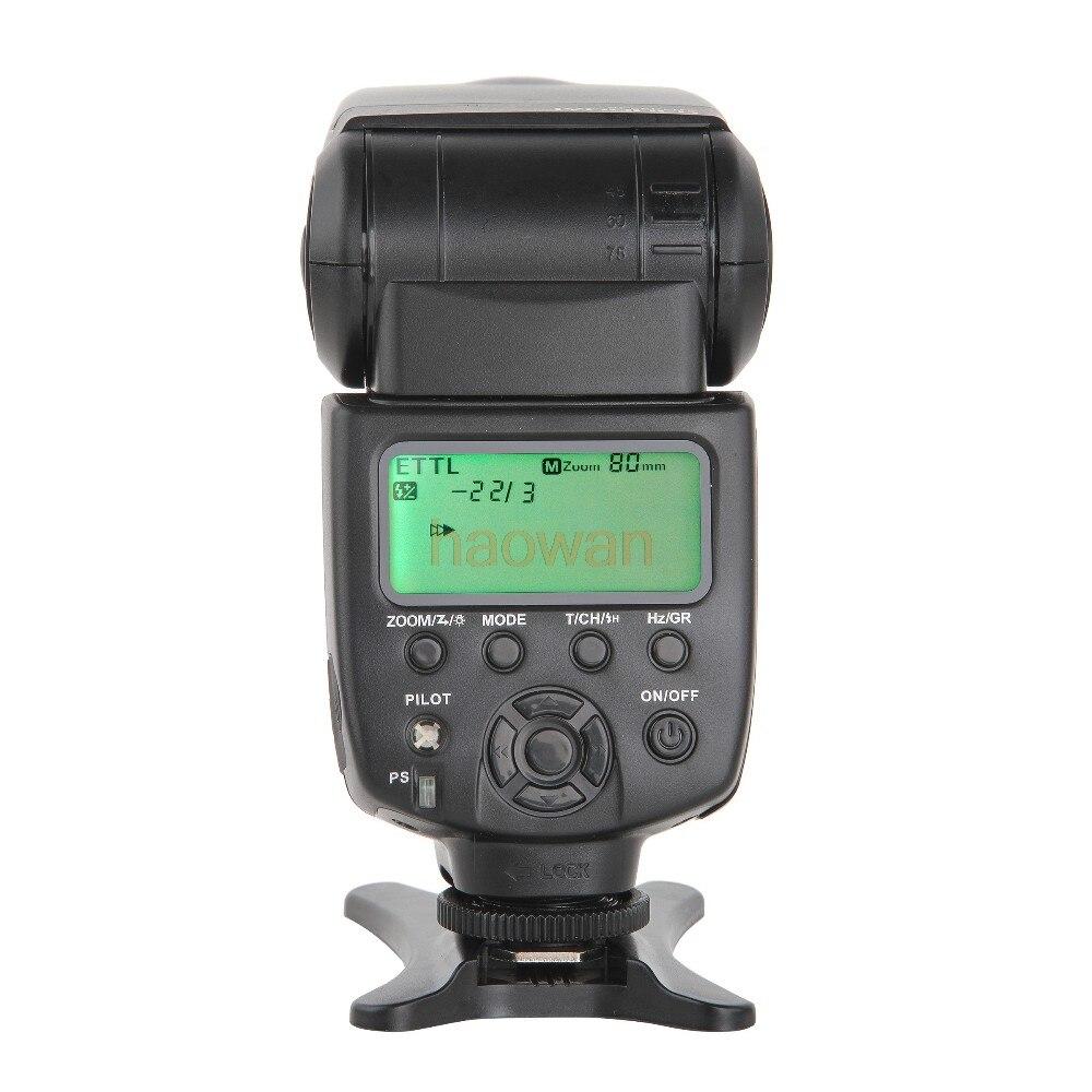 JY680CH 1/8000S High Speed Sync HSS TTL Flash Speedlite for Canon DSLR 760D 750D 700D 650D 70D 60D 80d 5DII 6d 7D camera viltrox jy 680ch 1 8000s high speed sync hss ttl flash speedlite for canon dslr 760d 750d 700d 650d 80d 70d 60d 5dii 7d 6d 1300d