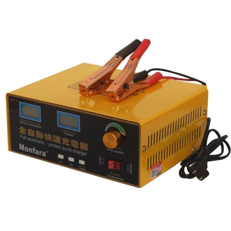 600W 25A Smart Automatische 12 V/24 V Auto Lagerung Batterie Ladegerät LCD 5 bühne Intelligente Puls reparatur für Blei Säure Batterie 36 400AH - 6