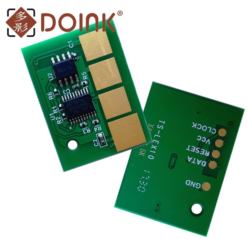 10pcs FOR Lexmark T650 T652 T654 T656 chip 25K T650H11E T650H21E EU WW version compatible lexmark ms810 toner chip refill toner chip for lexmark ms810n dn printer for lexmark ms810dtn 52d1h00 521h chip 25k